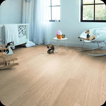 Винил Alpha Vinyl Medium Planks AVMP40097 Pure oak blush